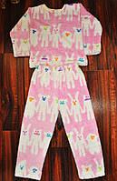 Детская теплая пижама для мальчиков и девочек
