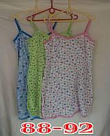 Ночная сорочка женская трикотаж Украина 88-91р на лямках НС-343