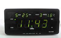 Электронные часы Caixing CX-2158 (220V и 12V)