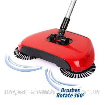 Автоматический двойной веник 360 Sweep, фото 2