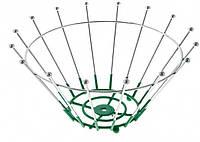 Корзина {ваза} нержавеющая круглая для фруктов H 140 мм (шт)