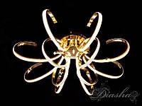 Светодиодная потолочная люстра в золотом цвете X9701/12G dimmer, фото 1
