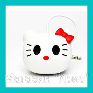 Портативная колонка на присосках Hello Kitty