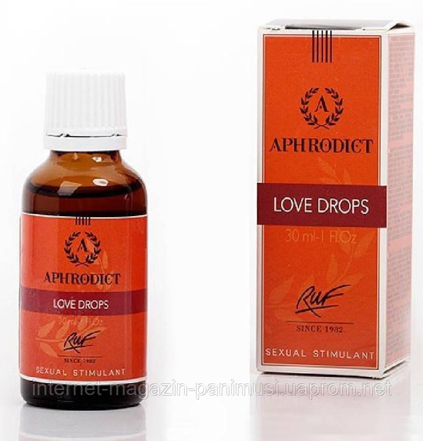 APHRODICT LOVE DROPS Капли Любви Супер возбудитель обоих Натуральный афродизияк Супер секс 30мл.