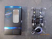 Набор автомобильных светодиодных ламп LED Focus VR7+ H4 9-32V 30W 5700 K (производство LED,Китай)