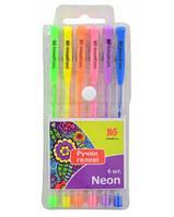 Набор гелевых ручек Yes 411706 Neon