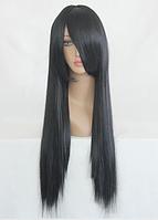 Черный парик с длинными волосами, длина - 60 см, парик на каждый день, косплей парик, парик аниме