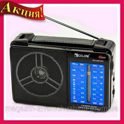 Радиоприемник от сети с пятью волнами GOLON RX-A07AC!Акция, фото 2