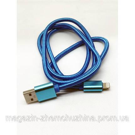 USB кабель на iPhone STD502 плетеный, фото 2