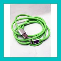 USB кабель на iPhone STD505 силиконовый