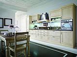 Классическая бордовая кухня из натурального дерева VERONA фабрики Torchetti (Италия), фото 6