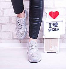 """Кроссовки, кеды, мокасины женские серые """"A Rock"""", спортивная обувь, фото 2"""