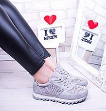 """Кроссовки, кеды, мокасины женские серые """"A Rock"""", спортивная обувь, фото 3"""