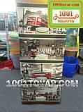 Комод пластиковий, з малюнком нічний Лондон, 4 ящики, фото 2