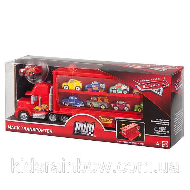 Disney Pixar Cars Mack Transporter Транспортер