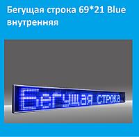Бегущая строка 69*21 Blue внутренняя