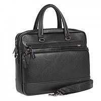 Мужская сумка Bradford B8923-5 для ноутбука и документов А4 ремень на плечо искусственная кожа 39х32х8см