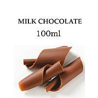 Жидкость для электронных сигарет со вкусом Молочный шоколад с дозатором в пластиковой ПЭТ таре ёмкость 100мл