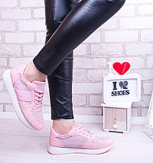 """Кроссовки, кеды, мокасины женские розовые """"Lush"""", спортивная обувь, фото 3"""