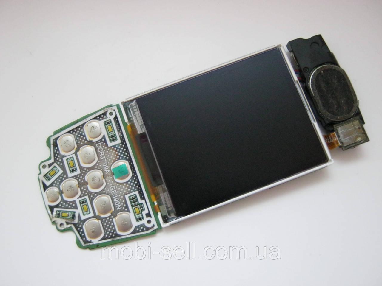 Samsung E390 дисплей SGH-E390 / E398_SUB_REV1.2