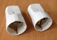 Розетка электрическая для удлинителя Alfa 250W 16А (Уценка)