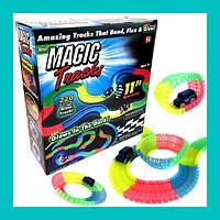 Детская гибкая игрушечная дорога Magic Tracks 220 деталей!Акция