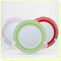 Набор фарфоровых тарелок MR-10009-01G