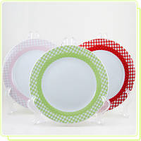 Набор фарфоровых тарелок MR-10009-01P