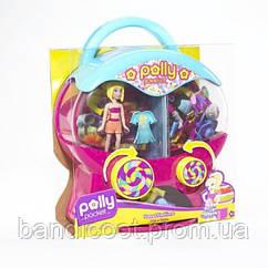 Кукла Полли Покет и распределитель для одежды Polly Pocket Pretty Packets Dispenser