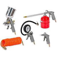 Набор пневмоинструмента, к/р с нижним бочком (5 предметов)