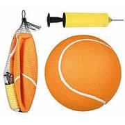 Trixie TX-34782 Мяч теннисный (22см) и насос-игрушка для собак