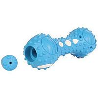 Trixie TX-33692 Гантель резиновая для десен собак (заполняется водой)