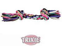 Trixie TX-3273 Канат c 2 узлами 37 см -игрушка для собак, фото 2