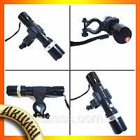 Велосипедный фонарик + вело крепление Bailong Police BL-8628!Акция