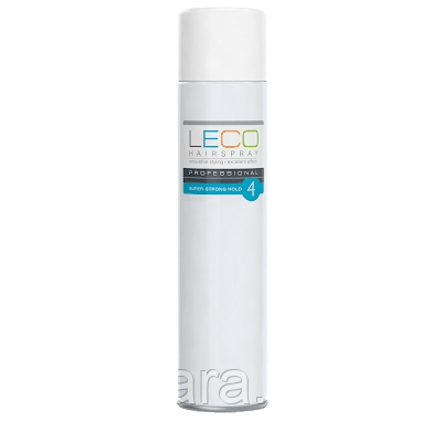 Лак для волос сверхсильной фиксации Leco 750 мл