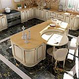 Классическая бежевая кухня с золотой патиной PREZIOSA фабрика DIEMME (Италия), фото 5