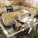 Классическая бежевая кухня с золотой патиной PREZIOSA фабрика DIEMME (Италия), фото 2