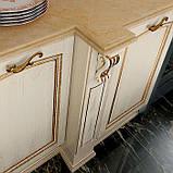 Классическая бежевая кухня с золотой патиной PREZIOSA фабрика DIEMME (Италия), фото 7