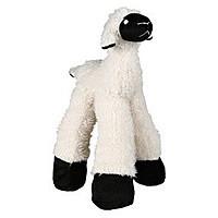 Trixie TX-35763 овечка с пищалкой и погремушкой для собак 30см