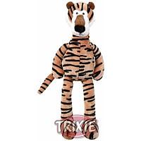 Trixie TX-35818 тигр с голосом, шелест фольги и погремушкой игрушка  для собак 48см
