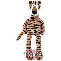 Trixie TX-35818 тигр с голосом, шелест фольги и погремушкой игрушка  для собак 48см, фото 2