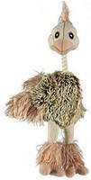 Trixie TX-35943 страус  плюш с пищалкой  игрушка  для собак 35см