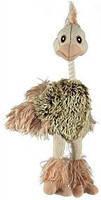 Trixie TX-35943 страус  плюш с пищалкой  игрушка  для собак 35см, фото 2