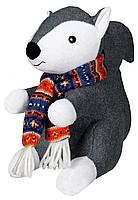 Trixie TX-35860 Белка с шарфом - игрушка,издающая звук для собак 20 см