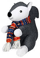 Trixie TX-35860 Белка с шарфом - игрушка,издающая звук для собак 20 см, фото 2