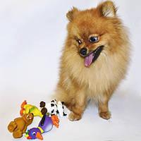 Trixie ТХ-3513 набор игрушек для щенков и собак мелких пород 4шт (11см), фото 2