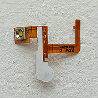 Шлейф боковых клавиш и вспышки для Sony Ericsson K700 кнопки (Б/У, оригинал)