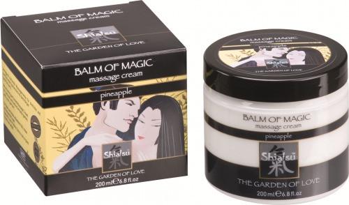 Массажный крем «BALM OF MAGIC» с запахом ананаса 200мл