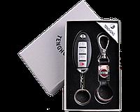 Подарочный набор (Разные Авто) 2в1 Зажигалка, Брелок №4430-8