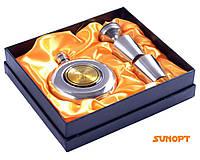 """Подарочный набор с флягой для мужчин 4в1 """"Самогон 70 ° """" GT-806-4"""